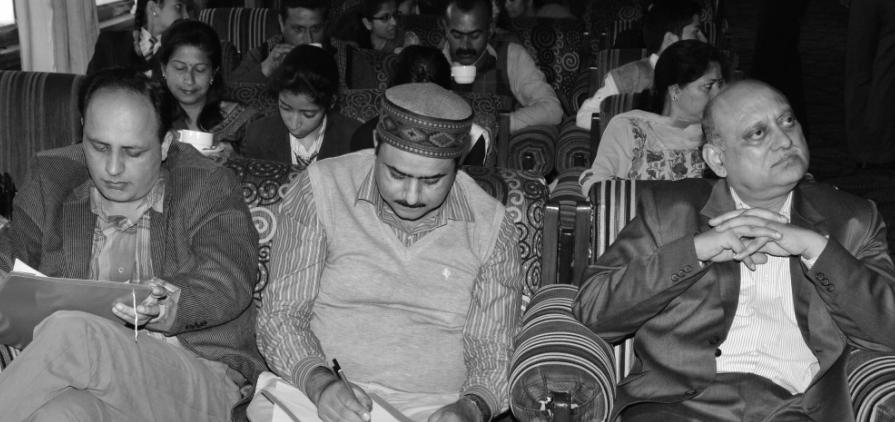 Judges at WWF India Event